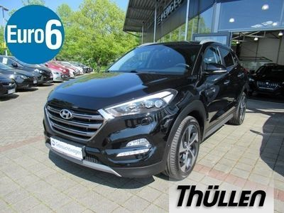 gebraucht Hyundai Tucson Premium 1.6 Turbo 4WD, el. Heckklappe
