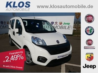 gebraucht Fiat Qubo LOUNGE 1.4 8V PDC SHZ KLIMA 2,49% 149€mtl.