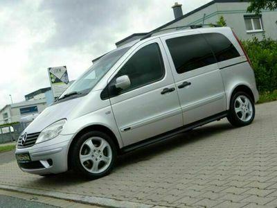 gebraucht Mercedes Vaneo Compact Van 1.9 *Navi-Comand*Klima*SHZ*PDC