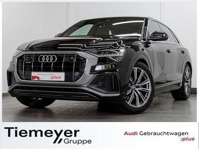 gebraucht Audi Q8 50 TDI Q 3x S LINE LM21 AHK HuD LEDER