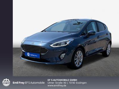 gebraucht Ford Fiesta 1.0 EcoBoost S&S TITANIUM X Navi PDC SHZ ACC Klima Sound