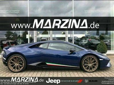 gebraucht Lamborghini Huracán ~Perfor~Komfort~Kamera~Lift~D.Fzg~Blau