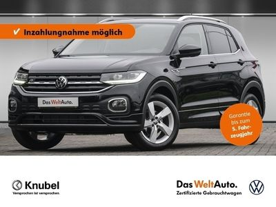 gebraucht VW T-Cross - 1.0 TSI Style DSG/R-Line Ext./NAVI/LED/ACC