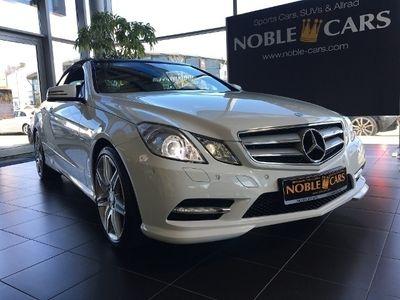 gebraucht Mercedes E350 Cabrio B.E. 7G-T Avantgarde *AMG*Navi*H/K*Xen*