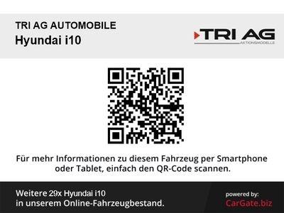 gebraucht Hyundai i10 YES! 1.2 A/T Klima SHZ Temp Multif.Lenkrad RDC AUX USB MP3 ESP Spieg. beheizbar