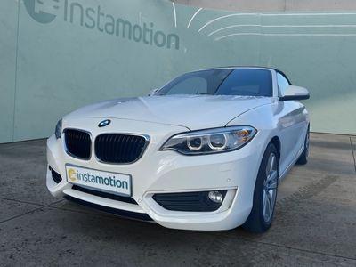 gebraucht BMW 218 218 d Advantage Cabrio NAVI LRH HiFi GRA KLIMA