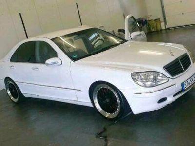 gebraucht Mercedes S320 Mercedes*Gasanlage* White Pearl//Tau...