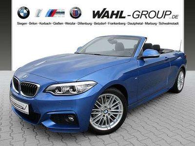 gebraucht BMW 225 d Cabrio Aut. M Sportpaket Leder LED Navi Business