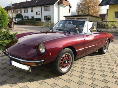 gebraucht Alfa Romeo 2000 SpiderFastback Veloce H-KENNZEI als Cabrio/Roadster in laufenburg