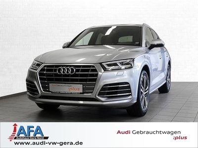 gebraucht Audi Q5 3,0 TDI qu. Sport tiptr. 2x S-Line,AHK,Luft,PanoD,Standhzg