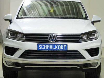 gebraucht VW Touareg 3.0 V6 TDI SCR Autom Leder Xen eSAD Stdh