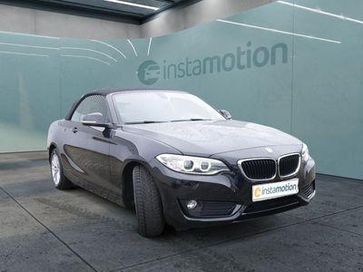gebraucht BMW 218 218 dA Cabrio Advantage NAVI+BI-XENON+PDC+SHZ+KEY