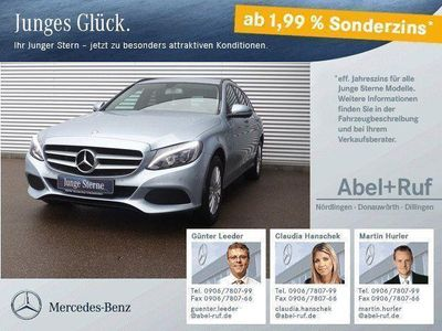 gebraucht Mercedes C200 d T Navigation LED 7G-Tronic Easy-Pack
