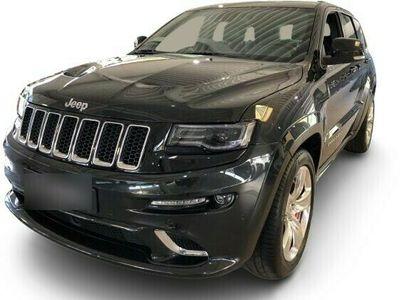 gebraucht Jeep Grand Cherokee Grand Cherokee6.4 V8 SRT Black / Black 39400km Deutsches Fahrzeug
