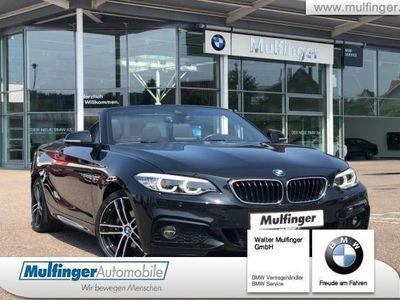 gebraucht BMW 220 d Cabrio M Sport Leder SpA.Lenkradh.Ad-LED18´´