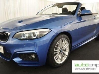 gebraucht BMW 220 iA Cabrio M-Sport LED/NAVI-BUSINESS/ALCANTARA/SHZ