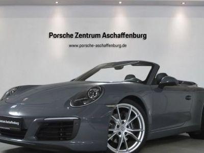 käytetty Porsche 911 Carrera Cabriolet 991 PDK Sportsitz 20-Zoll PDLS