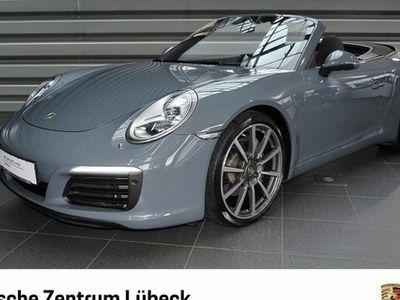 gebraucht Porsche 911 Carrera Cabriolet Online Dienste Plus Leder