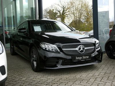 gebraucht Mercedes C200 Coupe AMG Spur-P./LED/Kamera/Navi/PDC
