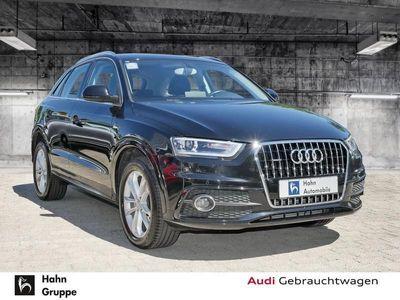 gebraucht Audi Q3 2.0TDI qu S-trc S-line Navi Bi-Xen PDC Tempo