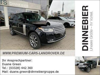 gebraucht Land Rover Range Rover RANGE ROVER SDV8 Vogue |Teltow Gebrauchtwagen, bei Autohaus Dinnebier GmbH