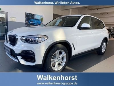 gebraucht BMW X3 xDrive20d Advantage BusinessPaket DrivingAss LiveCockpitPlus LED AHK
