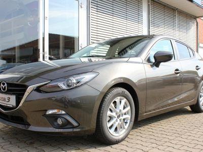 gebraucht Mazda 3 4-TüRER 2.0L 120 PS CENTER-L. + LICHT.-P. + NAVI