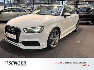 gebraucht Audi A3 Cabriolet S line Sportpaket quattro LED Fahrzeuge kaufen und verkaufen