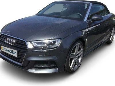 gebraucht Audi A3 Cabriolet A3 2.0 TFSI Q 3x S LINE S-SITZE BuO LED LM19