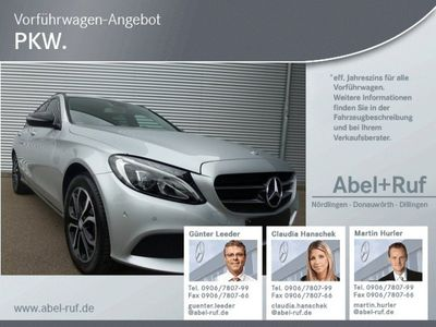 gebraucht Mercedes C180 T-Avantgarde-Night Paket-Tempomat-Navi-