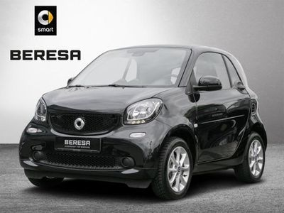 gebraucht Smart ForTwo Coupé 66 kW twinamic passion Polster schwarz