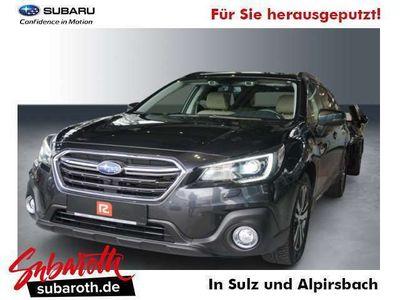 gebraucht Subaru Outback 2.5i Sport Parkhilfe vo+hi Leder Beige Navi/SHD