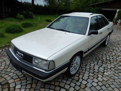 gebraucht Audi 200 Turbo Quattro permuttweiß Tüv neu!