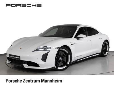 gebraucht Porsche Taycan Turbo Matrix SportChrono SportDesign 21''