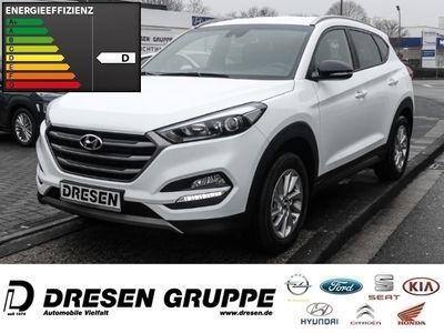 gebraucht Hyundai Tucson Passion 2WD 1.6/Navi/Klimaautomatik/PDC hi./Sitzheizung