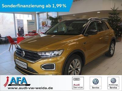 gebraucht VW T-Roc 1,6 TDI Sport R-Line,AHK,LED,Act.Info,1,99%Zins