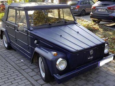 second-hand VW 181 Kübel