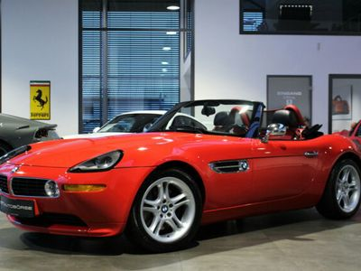 gebraucht BMW Z8 Roadster 5.0 Exklusiv in Hellrot + Hardtop