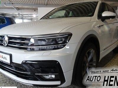 gebraucht VW Tiguan 2.0 TDI SCR 4MOTION, R-Line Highline / DSG / Garantie bis 04/2023
