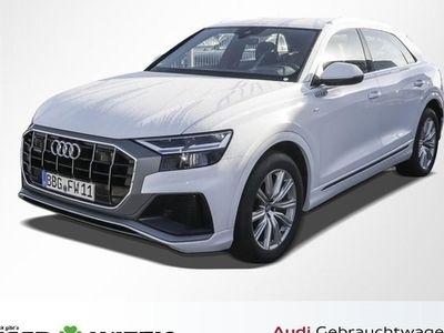 gebraucht Audi Q8 50TDI 2x S line /Standhzg/Sitzlüft/adAIR/ACC