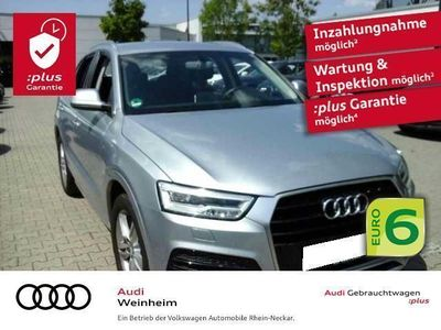 begagnad Audi Q3 2.0 TDI S-Line Einparkhilfe Klima uvm
