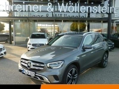 gebraucht Mercedes GLC220 d 4M Volldig.-Display*AHK*360°*Navi*MBUX