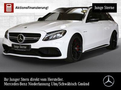 gebraucht Mercedes C63 AMG AMG S T Driversp Perf-Abgas 360° Pano Distr+