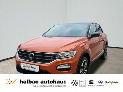 gebraucht VW T-Roc 1.5 TSI United+NAVI+SHZ+PDC+KAMERA+HECKKL ELEKTR -