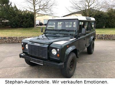 gebraucht Land Rover Defender 110 TD5/Klima/Standheizung/9 Sitze/AHZV
