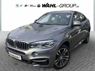 """gebraucht BMW X6 M50 M50d Navi Prof. AHK 20"""" Doppelspeiche Leder"""
