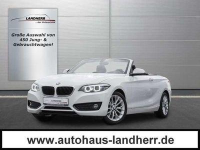 gebraucht BMW 218 d Cabrio Advantage //Xenon/Navi/PDC