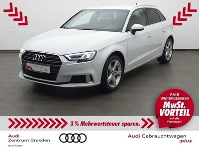 gebraucht Audi A3 Sportback g-tron Sport 30 LED SW/AHZV