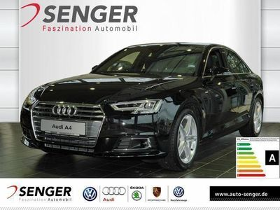 gebraucht Audi A4 2.0 TDI S line B&O Navi LED Tempomat APS SHZ