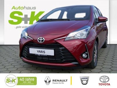 gebraucht Toyota Yaris Y20 Team D + CarPlay
